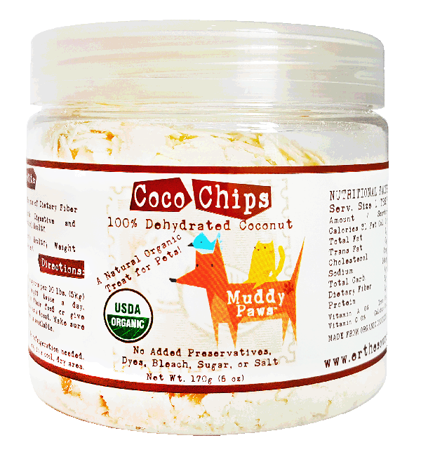 Muddy Paws Coco Chips