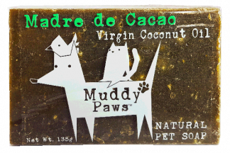 Muddy Paws Madre De Cacao Virgin Coconut Oil (VCO) Soap Bar