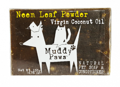 Muddy Paws Neem Leaf Powder (VCO) Soap Bar