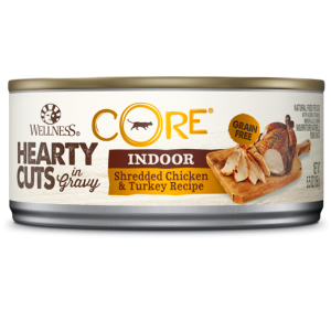 Wellness Core Hearty Cuts - Cats - Indoor Shredded Chicken and Turkey