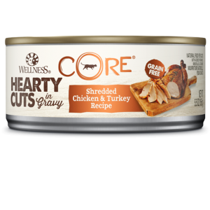 Wellness Core Hearty Cuts - Cats - Shredded Chicken and Turkey