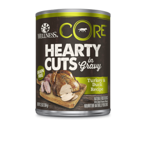 Wellness Core Hearty Cuts - Dogs - Turkey and Duck