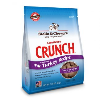 Stella & Chewy's Carnivore Crunch Treats - Turkey