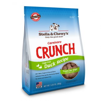 Stella & Chewy's Carnivore Crunch Treats - Duck