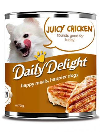 Daily Delight Dog Cans - Juicy Chicken