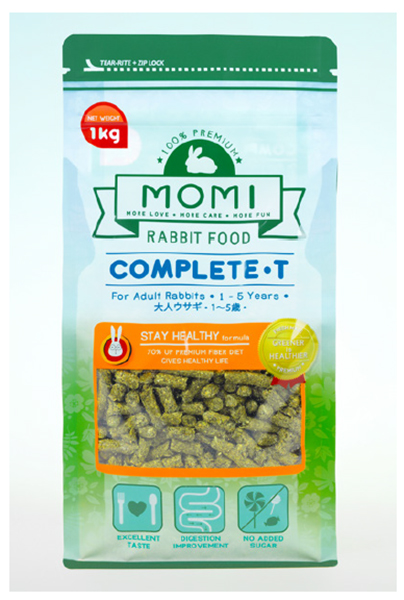 Momi Hay - Complete-T (Adult Rabbit Food)