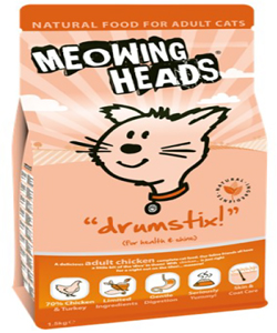 Meowing Heads DrumStix
