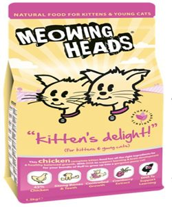 Meowing Heads Kitten Delight
