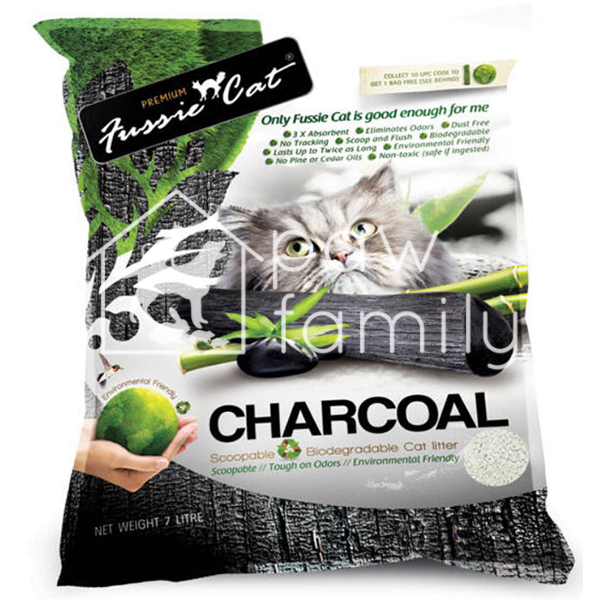 Fussie Cat Litter Charcoal