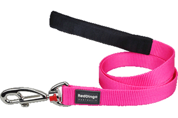 RED DINGO LEAD – HOT pink