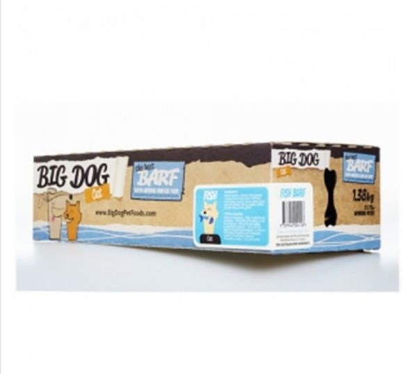 Big Dog – Cat – Barf Fish