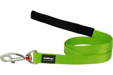 RED DINGO LEAD – lime green