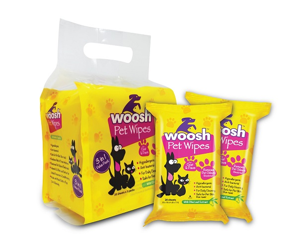 Woosh Pet Wipes