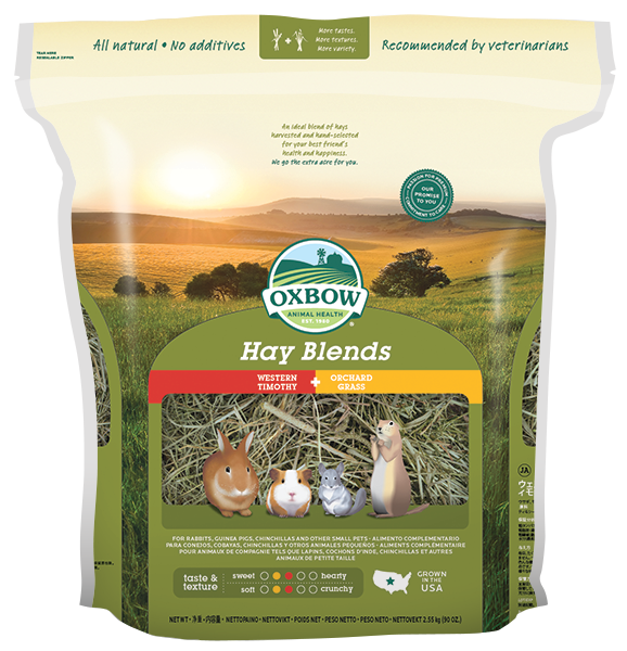 Oxbow Hay Blends – Timothy and Orchard Grass Hay