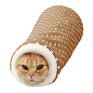 Marukan Sleeve Shaped Tunnel for Cat