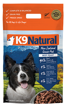 K9 Natural Freeze-Dried Beef Feast