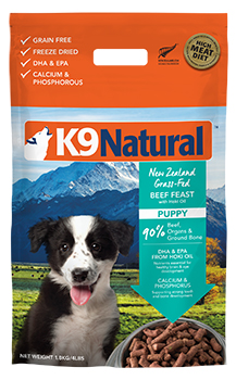 K9 Natural Freeze-Dried Puppy Feast 1.8kg