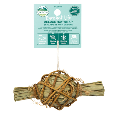 oxbow enriched life deluxe hay wrap