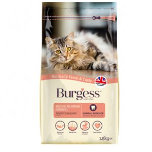 Burgess Scottish Salmon for Adult Cat