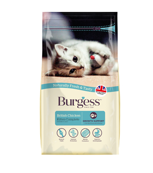 Burgess Kitten Chicken Flavor
