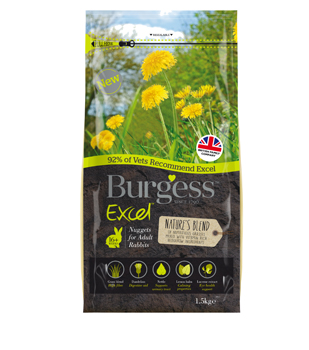 Burgess Natures Blend Adult Rabbit