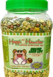 Happi Hamster Shiny & Glossy Coat Fortified Nutritional Diet