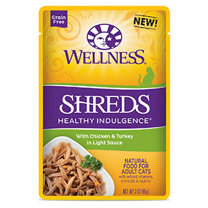 wellness healthy indulgence Shreds Chicken Turkey