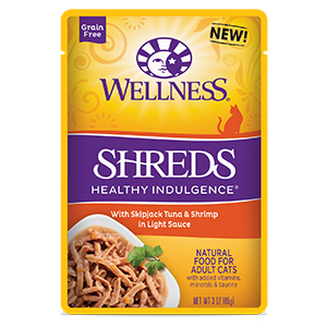 wellness healthy indulgence Shreds Tuna Shrimp