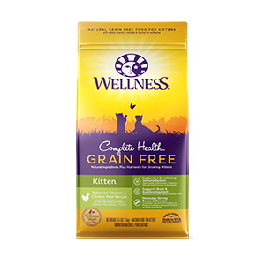 WELLNESS COMPLETE HEALTH GRAIN FREE KITTEN